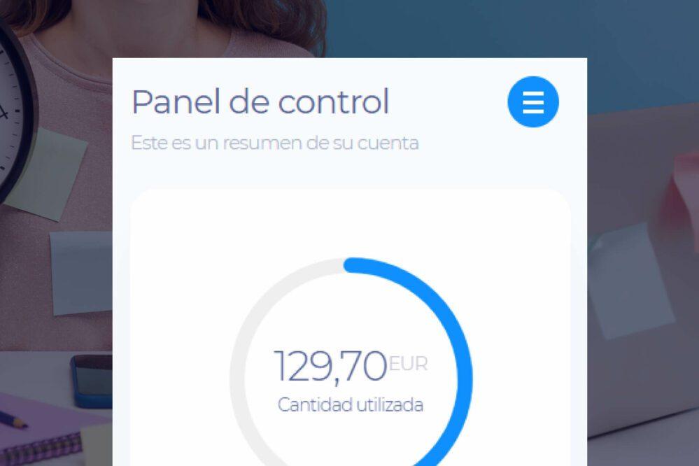 panel de control myviabill
